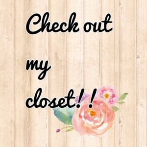 Come and check out my closet!